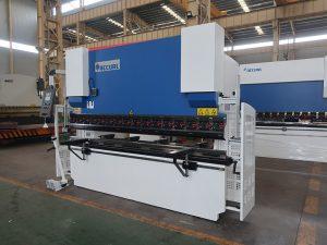 100T 2500 máquinas de dobraxe de freo de presión hidráulica de 2 eixes