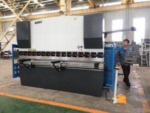 Máquina de dobrar de folla 125ton para a conformación de aceiro inoxidable