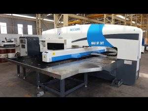 30 ton CNC servo prensa de perforación hidráulica