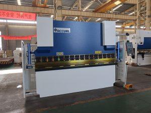 Máquina de freo de presión hidráulica de 300 ton. 5M con certificación de seguridade CE