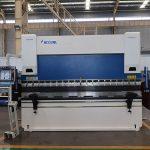 WC67K freo de prensa cnc hidráulico, prezo de máquina de dobradura CNC