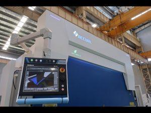 Freo de presión hidráulica CNC de 8 eixes 110 toneladas 3200mm