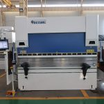 WC67K 500T / 4000mm CNC freo de prensa de aceiro inoxidable hidráulico, máquina de dobra de chapa de alta eficiencia