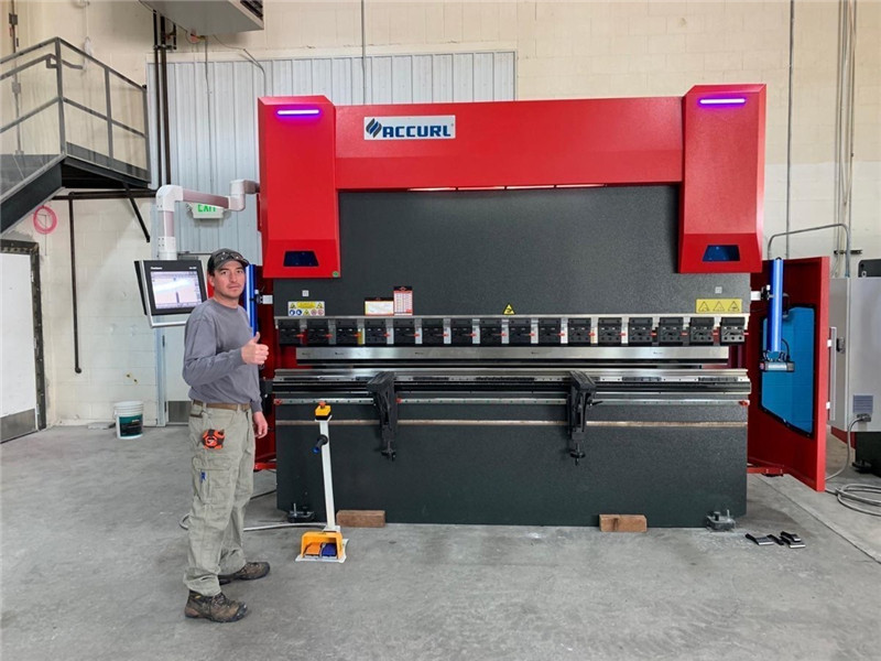 ACCURL cnc press brake DA58T 4axis 2500mm
