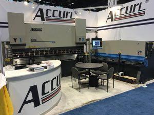 Accurl participou na máquina-ferramenta de Chicago e na Exposición de Automatización Industrial en 2016