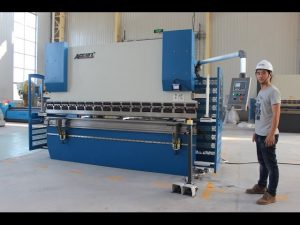 Brazo de prensa CNC de 2 eixes CE 130Tx3200 E200 NC Sistema de control NC Prensa de máquina de freo
