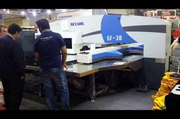 Maquinaria de prensa de perforación hidráulica servo cnc de alta calidade