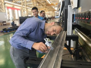 Irán Client Testing Machine na nosa fábrica 2