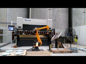 Freno de prensado CNC robótico para o sistema de dobras robóticas