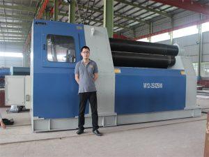 Clientes Tailandeses Compra a máquina rodante W12 da Accurl Company