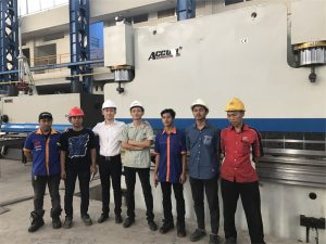 A Delegación de Indonesia chegou a visitar a nosa fábrica