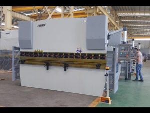 Barra de torsión hidráulica NC Press Brake MB7-125Tx3200