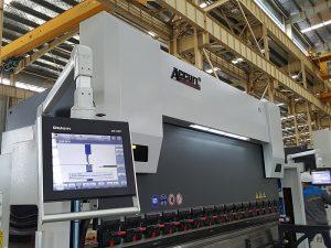 Delem DA52 máquina de dobra hidráulica, precisa posición de freo de prensa horizontal, ferro de ángulo cnc