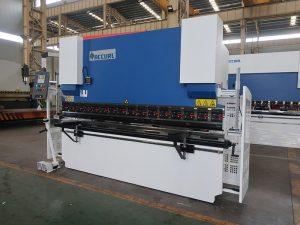 Freno de prensa hidráulico WC67Y, máquina de dobra de barra de cobre, máquina de dobradura CNC