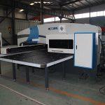 siemens sistema de perforación de torreta cnc, perforación automática de perforación de máquina de prensado cnc prezo de prensa