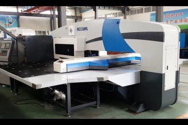 Fabricantes de prensas de prensas cnc - prensas de torres - máquinas de perforación servo cnc de 5 eixes