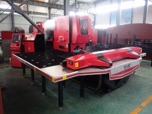 EASY-FAB P25 siemens, máquina de perforación de torreta CNC de controlador fanuc, prensagem