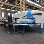 estación de traballo cnc prensa de perforación de torreta, punzonadora CNC