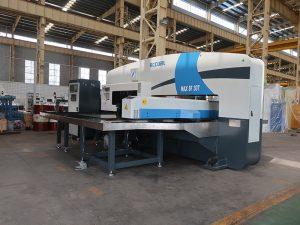 máquina de prensagem de torreta cnc