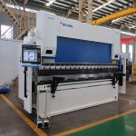Táboa de aceiro WC67Y-80T / 2500 80T máquina de freo de presión CNC