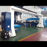 Gantry style 5-axis cnc press brake robot dobrar / torreta punteiro prensa