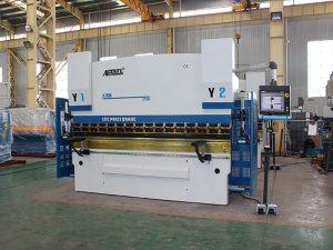 cizalla de guillotina e freo de prensa hidráulica CNC a venda