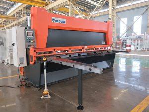 hot sale QC11K CNC máquina de corte de guillotina hidráulica