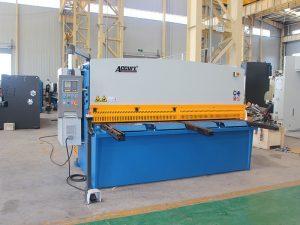 máquina de corte hidráulica con feixe de balance