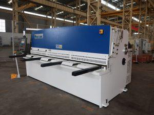 alta precisión de corte QC12Y 4x2500 chapa de máquina de corte de chapa de aceiro máquina de corte hidráulico