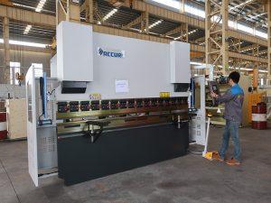 máquina de dobra de 30 ton CNC portátil de alta calidade, pequeno instock de freo de prensa
