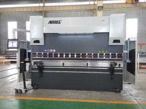 Con certificación CE europeo, o freo de prensa automática de dobra hidráulica