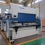 Wc67y-125t / 2500 máquina de dobra de freo de prensa hidráulica con bo prezo