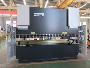 máquina de dobraje de aceiro inoxidable usado NC prensa máquina de dobra de aceiro 80T 2500mm WC67K